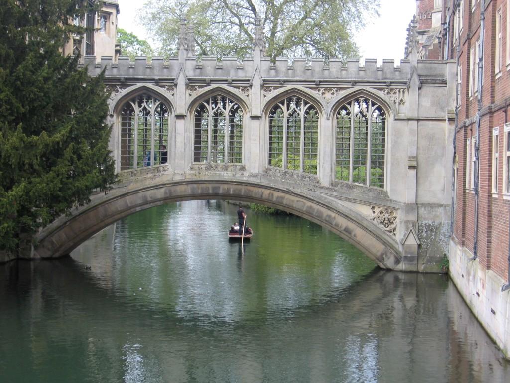 The world needs bridge builders (Cambridge, UK)