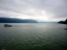 Reaching for the horizon, Porteau Cove, BC.